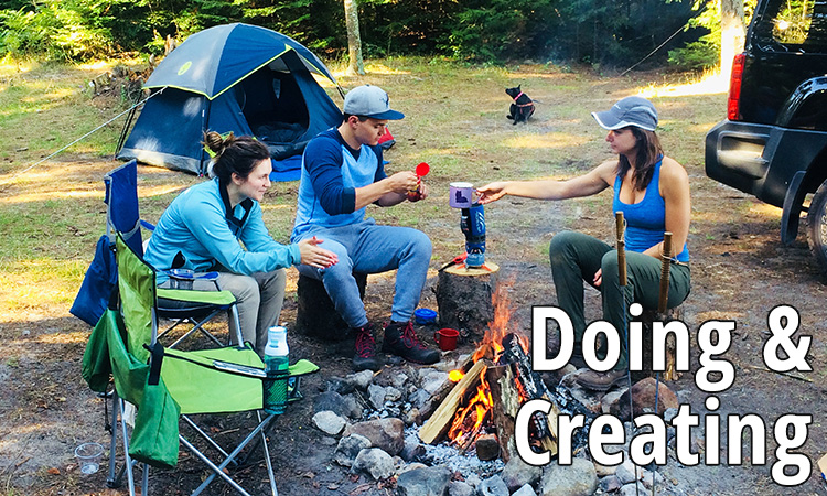 Doing & Creating with Cold Shower